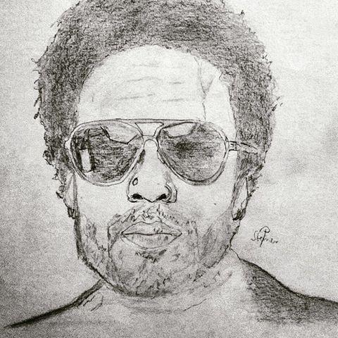 Lenny Kravitz by psteinerart